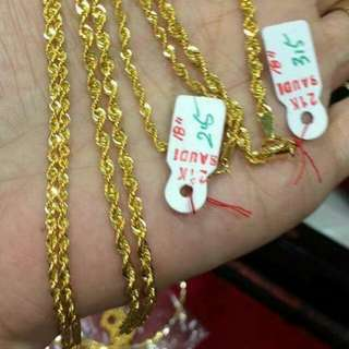 21K Necklace