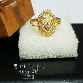ITALY DIAMOND RING