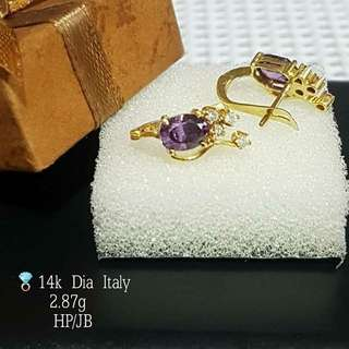 ITALY DIAMONG EARRINGS