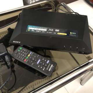 Sony 播放機  BDP-S1100 , 支援blue way , DVD
