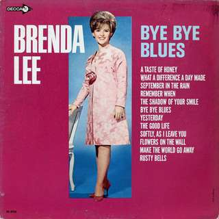 brenda lee Vinyl LP, used, 12-inch original (mostly USA) pressing