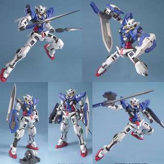 MG 1/100 Gundam Exia Regular Edition Plastic Model