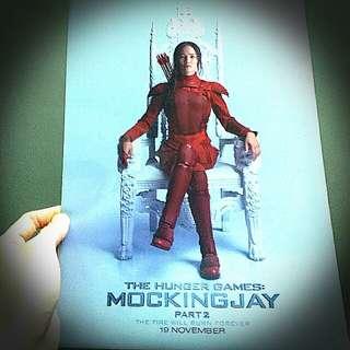 Hunger Games Mocking Jay File Folder A4 文件夾飢餓遊戲自由幻夢