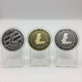 ✅ Litecoin LTC collectible coin