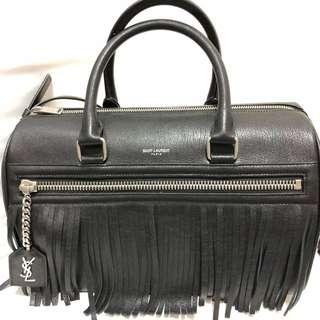 Saint Laurent - Black Boston Bag
