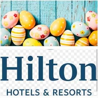 在  復活節 取得已無房間提供的希爾頓酒店(全球) 可用