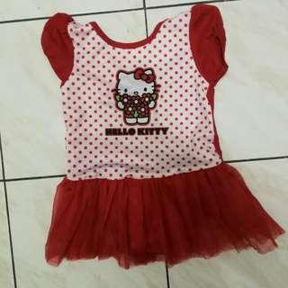 Hello Kitty Tutu Dress 3y