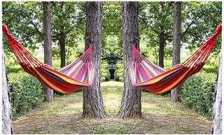 Camp sling bed