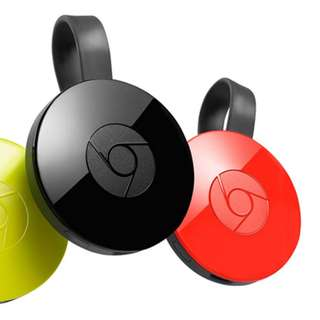 Chromecast 2 (Black, Coral)