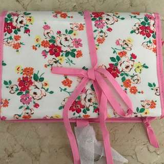 Cath Kidston fold out travel bag