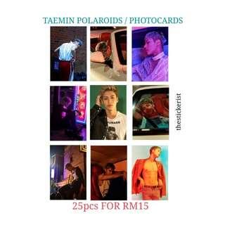 TAEMIN POLAROID / PHOTOCARD