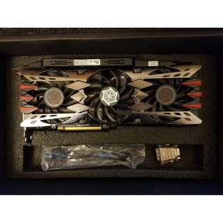Inno3D Nvidia Geforce GTX 980 Ti 0 6GB X4 Ultra Graphics Card