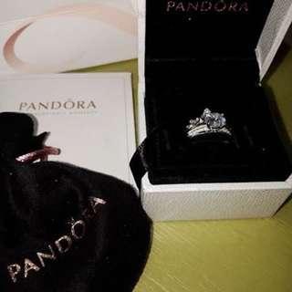 Pandora Inspired 2in1 Crown Ring 💕