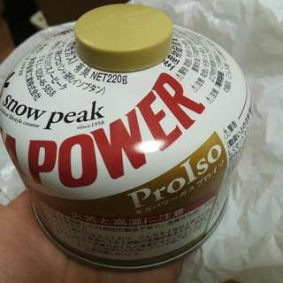 snow peak giga power 高山瓦斯罐 220g
