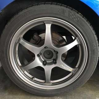 Rims & tyres (Trade with n top up)