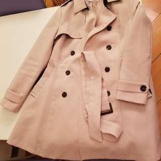 Korean brand ladies' trench coat in beige colour