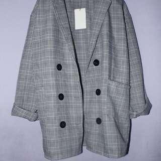 Zara blazer style 2 (replikanya) bukan preloved