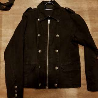 Militia style jacket