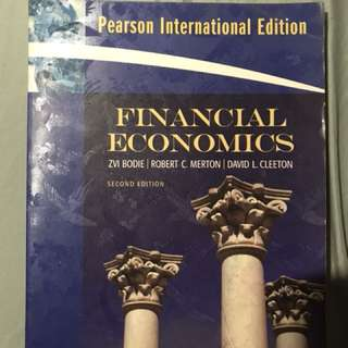 Financial Economics Second Edition