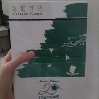 2018 STARBUCKS PLANNER (SMALL)
