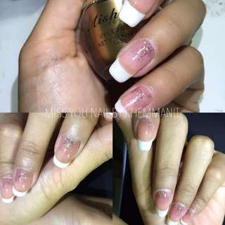 Classic Gel Manicure and Nail Art