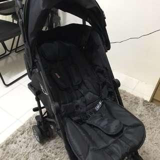 Union jack mini cooper stroller