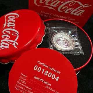 全球首套可口可樂銀幣