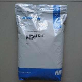 MyProtein 3KG Impact Diet Whey protein powder (Cookies & Cream)