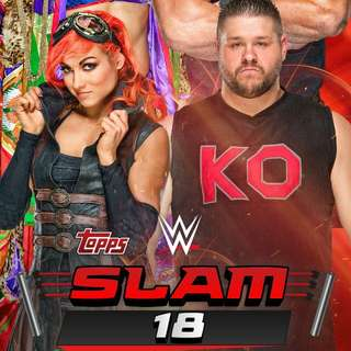 Selling WWE slam card trader cards!