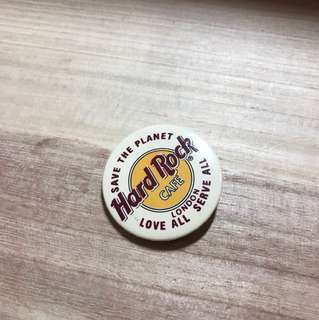 HARD ROCK CAFE LONDON BADGE 襟章