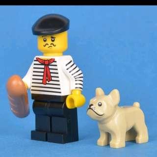 Lego 71018 Series 17 Minifigs Connoisseur 連底板 說明書 包裝袋 (全新開袋確認)