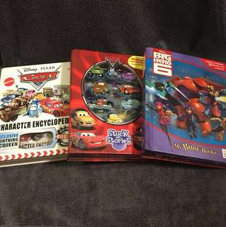 Children books with mini figures 3 books