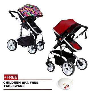 💥RS💥Luxurious Anti-Shock Stroller