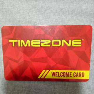 TimeZone Welcome Card