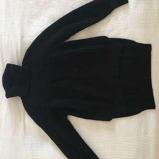 Artizia Black Knitted Turtleneck