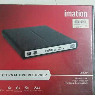 ##to go fast ##External DVD Writer Imation BRAND NEW