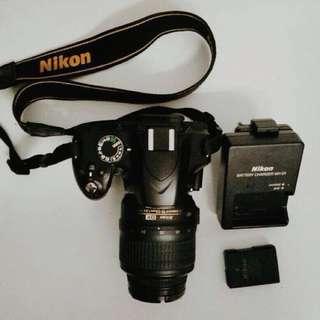 DSLR NIKON D3200 (FULL PACKAGE)