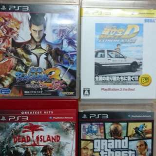 PS3 Games PS3 遊戲