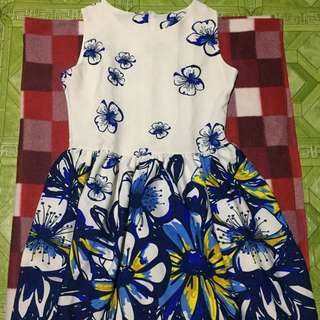 Repriced.! - White floral dress