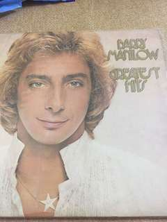 Barry Manilow greatest hits double LP