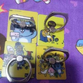 Kakao Friends智能電話手指環Ring kickstand