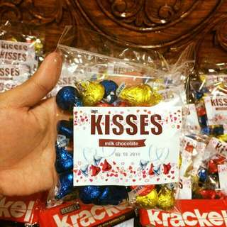 Kisses repacked