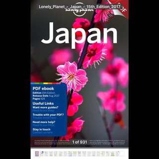 Lonely Planet Japan (PDF)