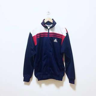 Adidas 3 Stripes Embroidery Logo Full Zip Jacket (reserved)