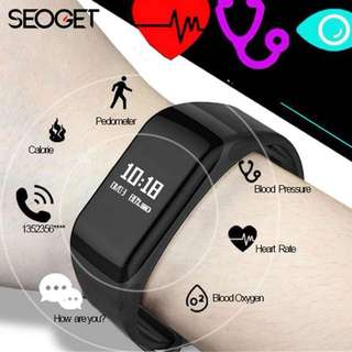 Fitness Tracker Smart wristband Heart Rate/blood pressure smart Bracelet call reminder fitness smart watch Passometer Smart Band