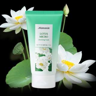 <2 for $30> BN Mamonde Lotus Micro Cleansing Foam