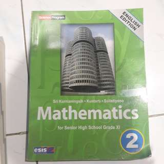 MATHEMATICS ENGLISH EDITION BY ESIS