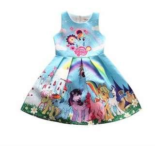 MLP Dress (2T- 8T)