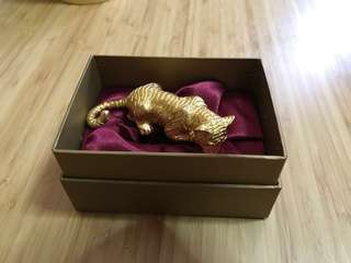Singapore Mint 18k Gold-Plated Tiger