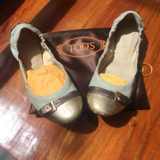 TODS Ballerina Flat Shoes ( Authentic )